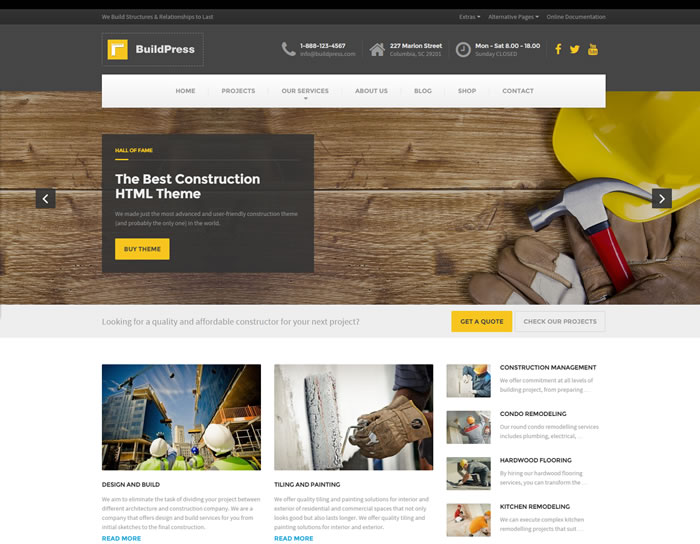 15 best construction business architect websites html for Best architects websites